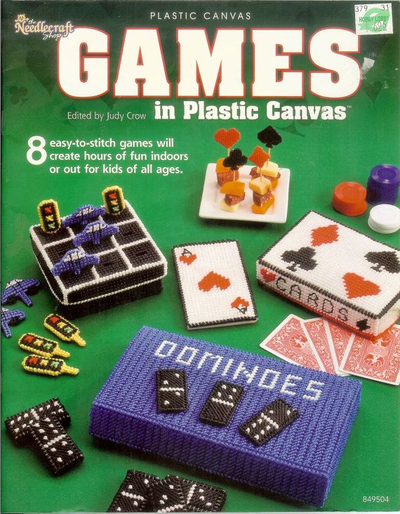 Plastic Canvas Books to Order | Needlecraft games in plastic canvas book