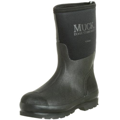 The Original MuckBoots Adult Chore Mid Rain Boot Mid-high rain boot  featuring stretch-fit topline, reinforced toe/heel, and steel shank for  additional arch ...