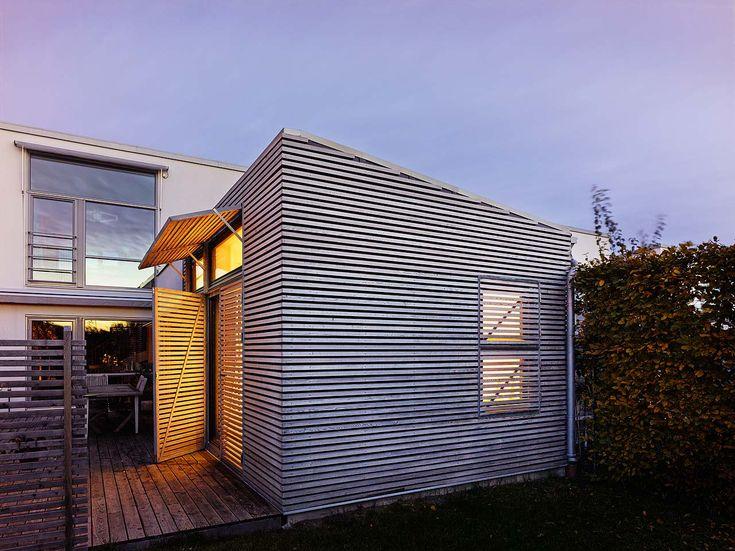 Tillbyggnad på Annehem - Johan Sundberg Arkitektur i samarbete med arkitekten Martin Martinsson. Fotograf: Peo Olsson. 2010.