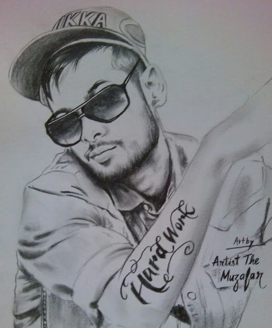 IKKA sketch by artist the muzafar