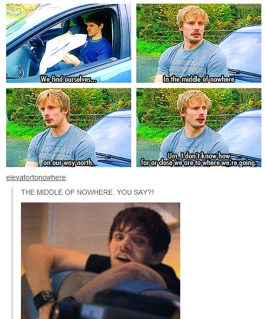 "Bradley and Colin get lost...IN THE MIDDLE OF NOWHERE! (doctor who, episode ""Midnight"")"