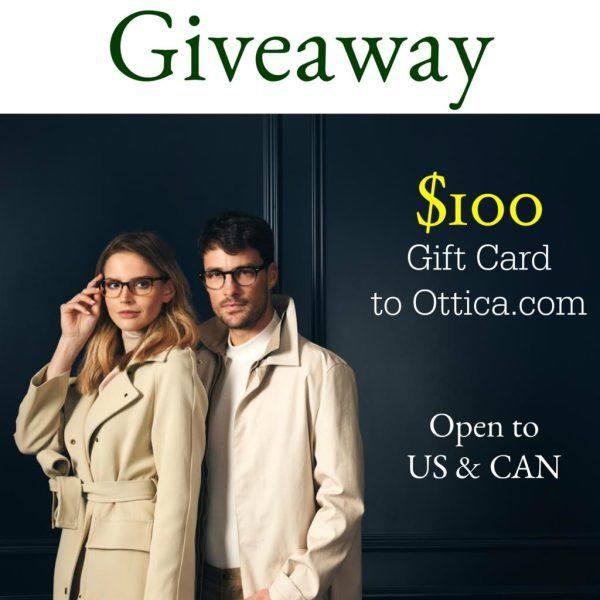 $100 Eyeglass Giveaway - Basically Speaking - Open to CAN/US  contest ends 09/03