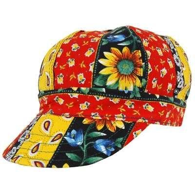 Vintage Kromer Welding Caps   ... Headwear > Welding Caps > Kromer Caps: A352 Daisy Chain Welding Cap