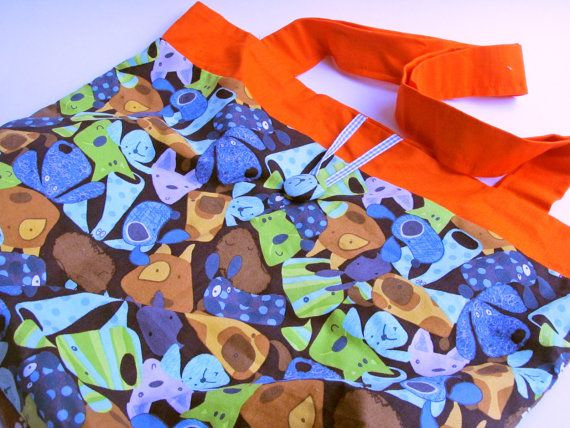 Cute little dogs Bag by bugcrafts on Etsy, $34.13