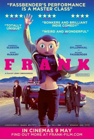 MAY - Frank: This looks so random, I can't wait to see it. I love Domhnall Gleeson and Michael Fassbender is always fantastic.
