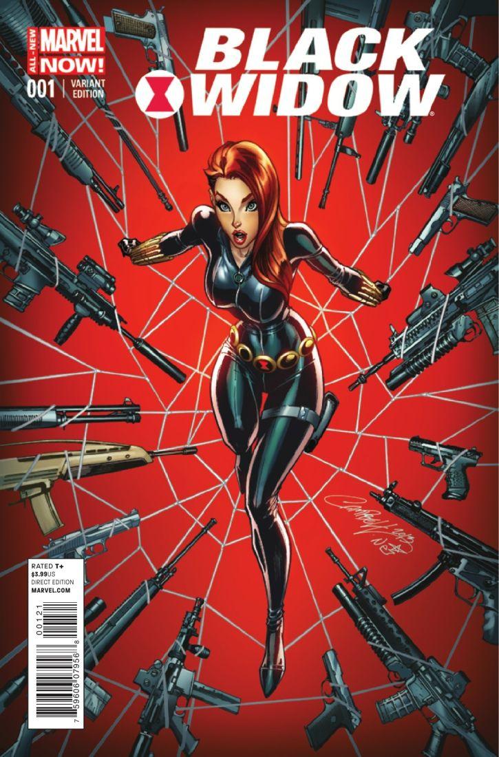 Black Widow - J Scott Campbell | cool artwork | Pinterest