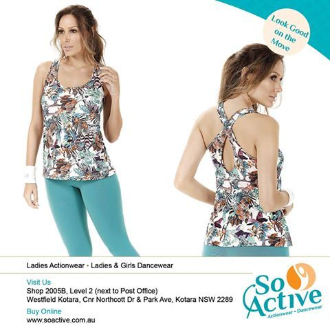Autumn prints for the perfect time of year. This beautifully combined outfit is in store NOW at So Active
