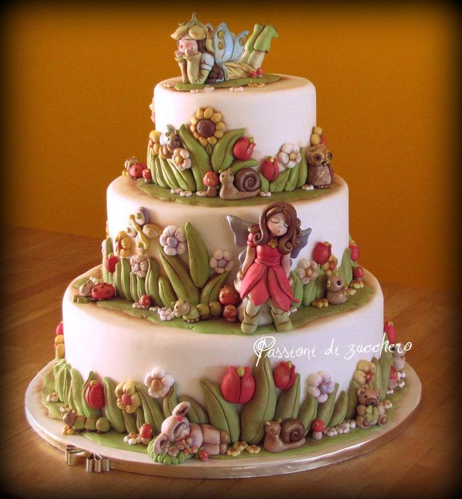 estate effetto Thun - by passionidizucchero @ CakesDecor.com - cake decorating website
