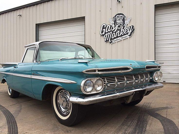 Gas monkey garage car 1959 chevrolet el camino chevy for Garage sees automobile