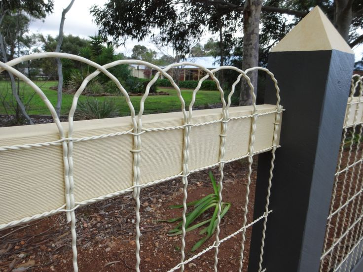 45 Best Woven Wire Ornamental Loop Fences Amp Gates Images