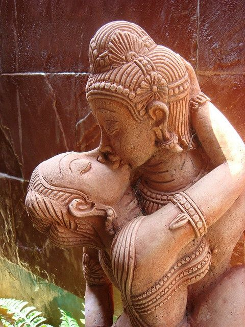 "hinducosmos: "" Shakti - Shiva Deep Kiss photo by Sugree Phatanapherom """