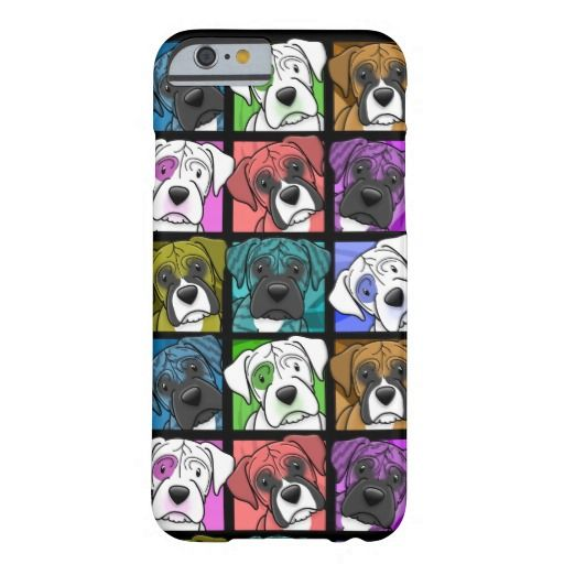 Pop Art Boxer iPhone 6 case
