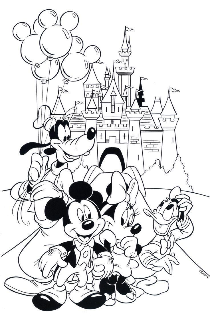 Free Disney Coloring Page Printable Disney Malvorlagen Weihnachtsmalvorlagen Kostenlose Ausmalbilder