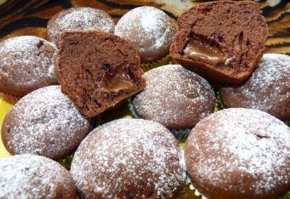 Nutellás muffin 2. - diós