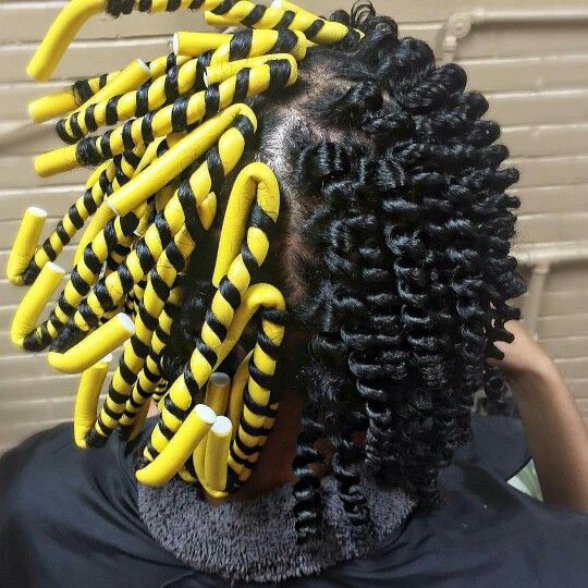 1000 Ideas About Flexi Rods On Pinterest Natural Hair