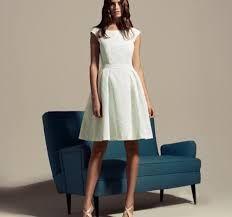 vestido blanco corto casual - Buscar con Google