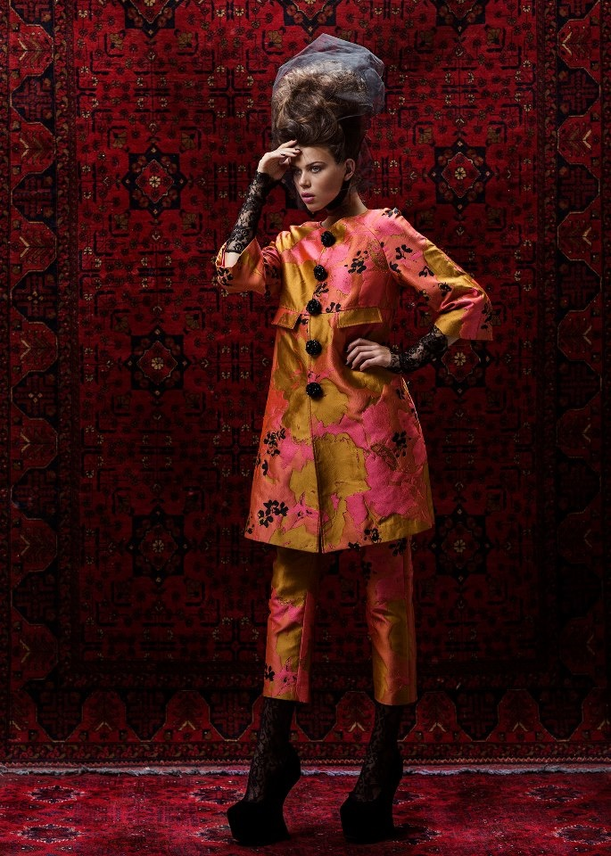 Trelise Cooper Glam Slam coat and Walk of Art pant