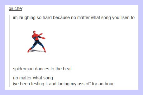 I dont know how long i've been laughing at this and testing different songs.