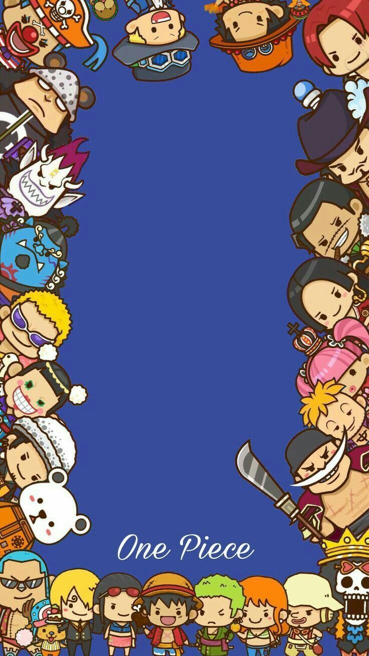 One Piece New World Wallpaper Chibi In 2020 One Piece Wallpaper