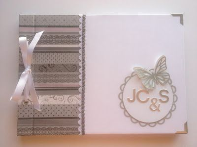 cachivache: libro de firmas para boda