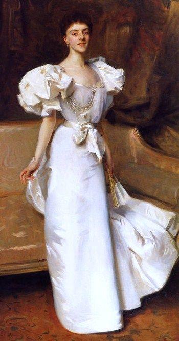 John Singer Sargent (American expatriate artist, 1856-1925) Mrs Mahlon Day Sands (Mary Hartpeace)