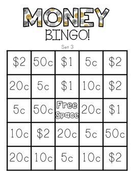 best 25 money bingo ideas on pinterest coin values teaching money and learning money. Black Bedroom Furniture Sets. Home Design Ideas