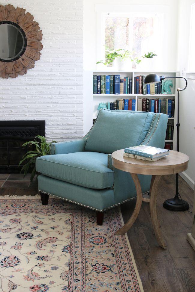 Family Room Flooring Reveal - The Inspired Room