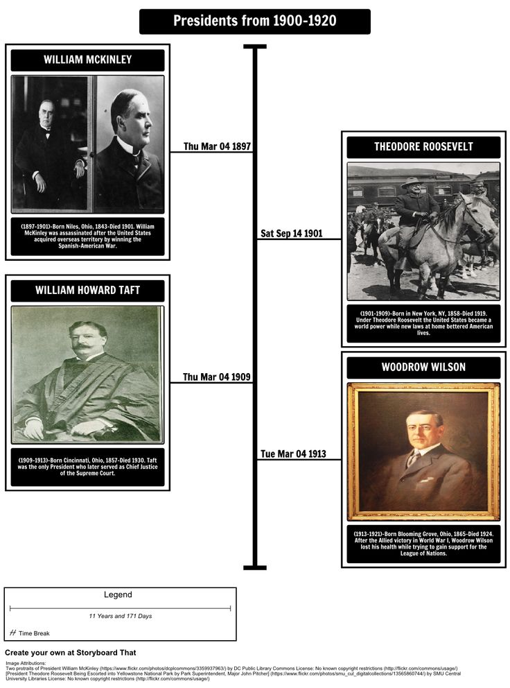 So You Want to Be President by Judith St. George - President Timeline: In this activity, students will research presidents from a specific period of time. Using the Timeline storyboard, students can map out when each president held office.