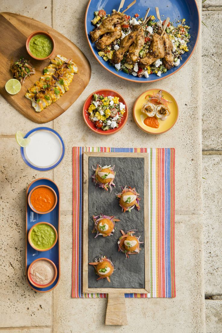 Delicious Party Food #partyfood @wheel&barrowhomewares flavours of peru recipes