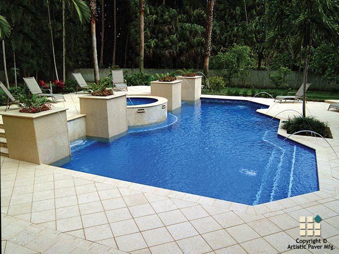 Shellock atlantic series philip pdw pavers tile pool for Pool design pattern