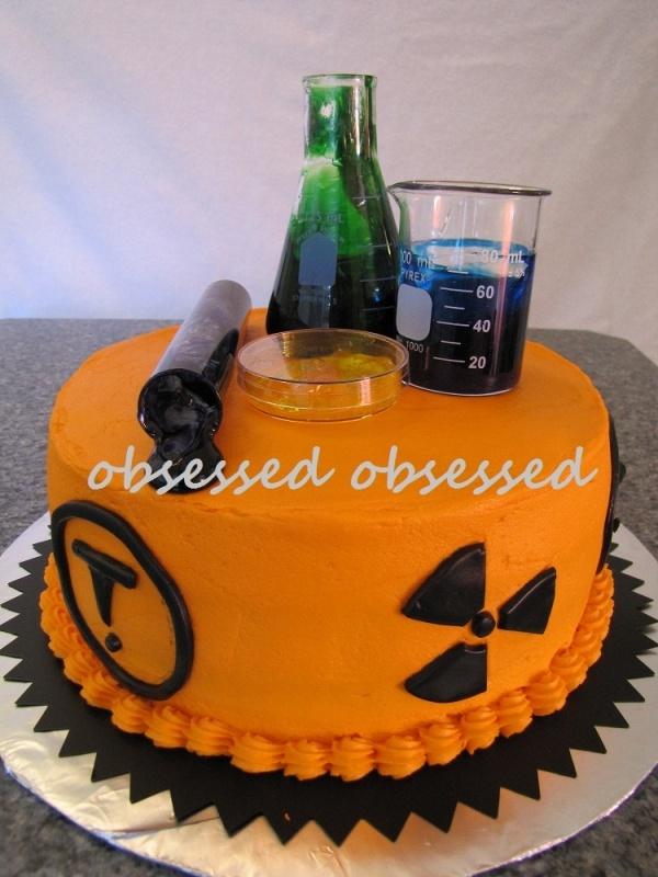 Mad Science Cake @Tracy McEnaney