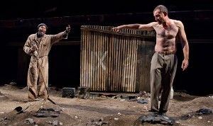"Athol Fugard's ""The Train Driver"" is a moving but very slow production at the Signature Theater."