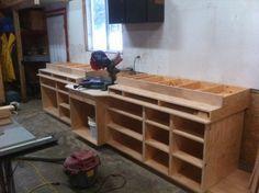 Workshop #1: Mitre Saw Bench in Progress!!! - by neffcustom ...