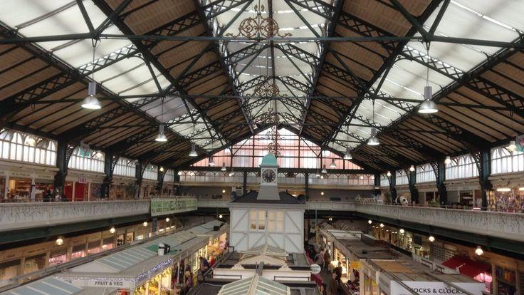 Cardiff market.