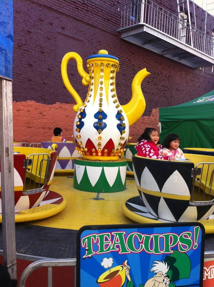 Spinning Teacups in Chinatown sanfrancisco 7 best