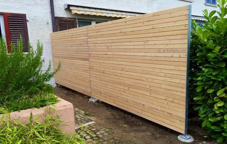 Anfertigung Holz Sichtschutz Artefatto Handwerk Sichtschutz Garten Holz Sichtschutz Garten Trennwand Garten