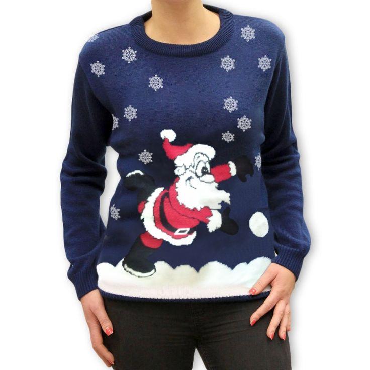 Śliczny damski #świąteczny #sweter, wykonany bardzo starannie z wysokiej jakości materiałów.