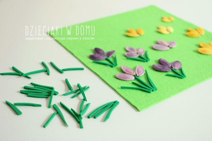 Wiosna Prace Plastyczne Dzieci Preschool Crafts Crafts Kids Art Projects