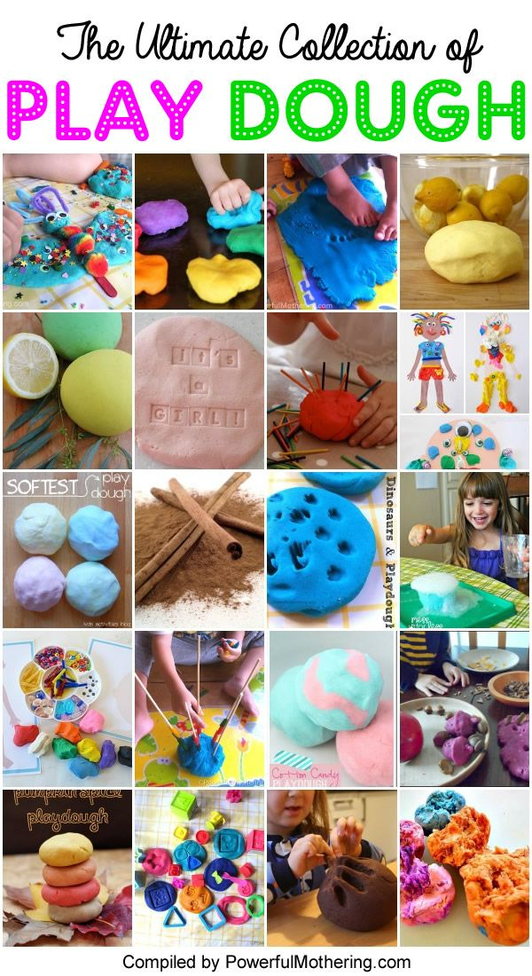 Join us for the ultimate guide to 50 craft materials today with play dough! Find things new and old to do with your play dough and have fun!