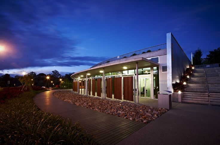 Cooroy Library by Brewster Hjorth Architects