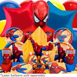 Spider-Man Superhero Party Supplies - Spiderman Birthday Supplies