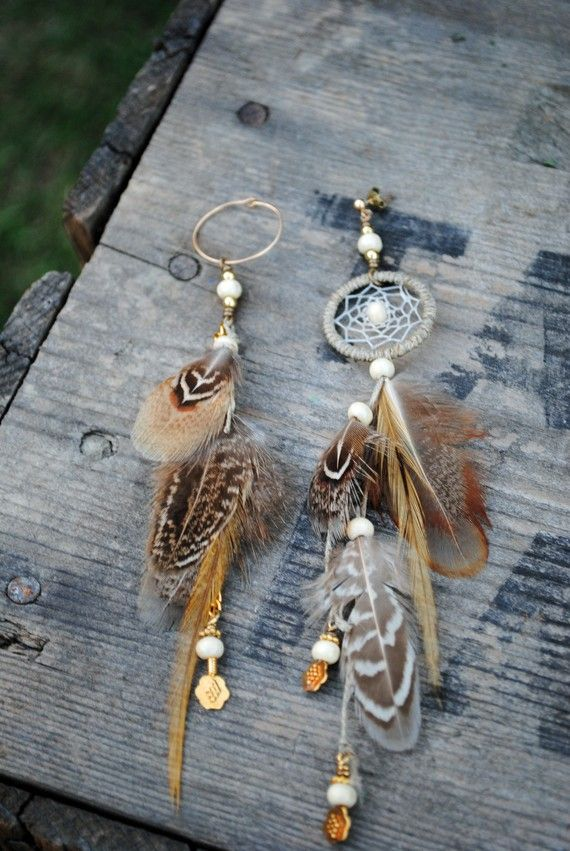 Hippie Chic/boho feathers