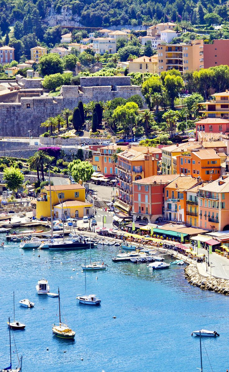 Eze ~ famous worldwide for the view of the sea from its hill top, France ~ Magnifique France is the most Visited Country in the World