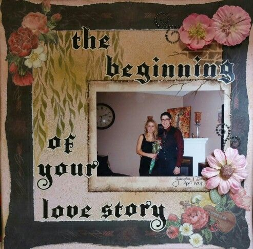 The beginning of your love story