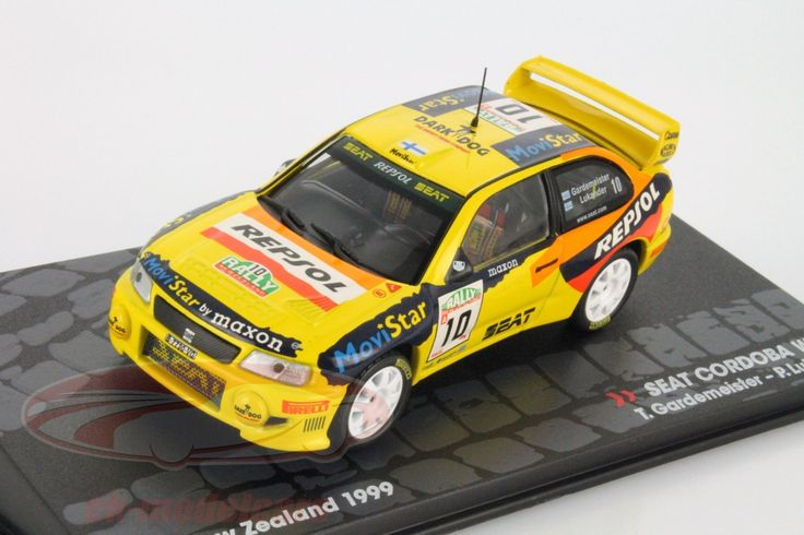 Seat Cordoba WRC, Rally New Zealand 1999, No.10, T.Gardemeister / P.Lukander. Altaya, 1/43. Price (2016): 8 EUR.