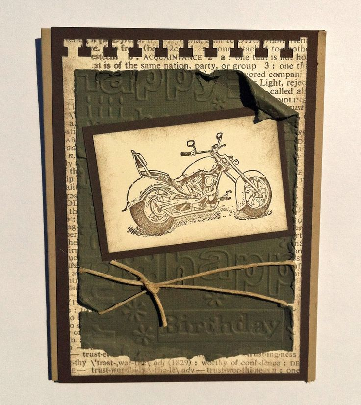 Laura's Creative Moments: Another birthday card for men and a gift bag