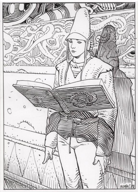 #moebius #illustration #comics
