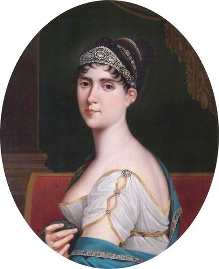 The Empress Josephine (1763–1814), wearing a Spartan diadem by Robert Lefèvre, 1806.