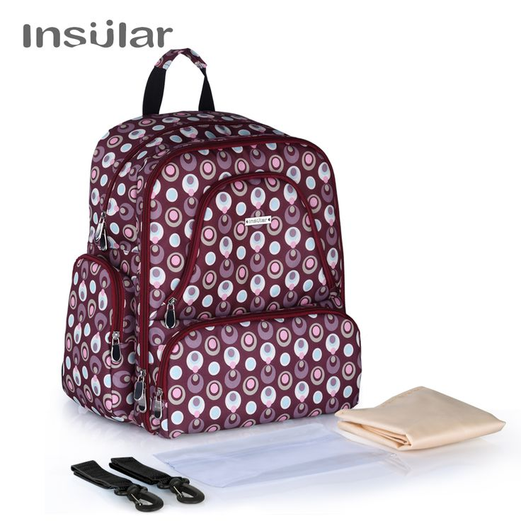 Illusion Designer Hi Capacity Multi Storage Baby Nappy Carry Bag //Price: $57.79 & FREE Shipping //     #parenting