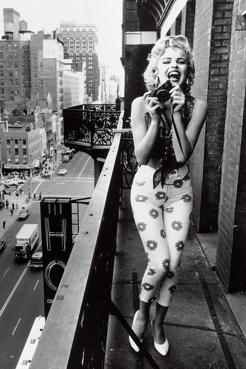 Marilyn Monroe. Thank you, my dear....  For changing this world. And making it all the more beautiful.